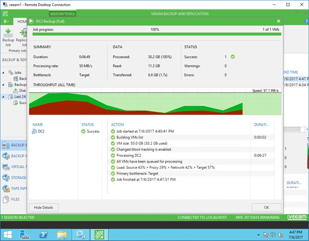 Home Lab Veeam 9 5 Deployment – Part 3: Backup and Recovery