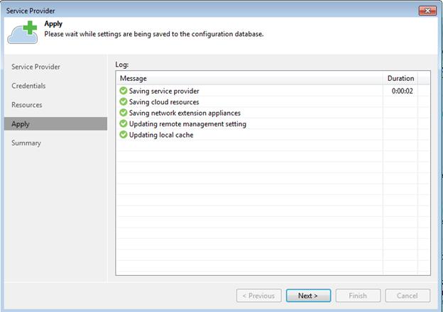 Extending Veeam Backups with a Cloud Provider – VMATT net